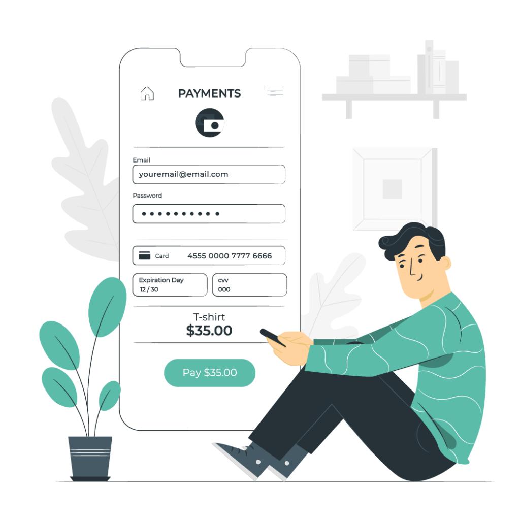 Online-Shop Zahlungswege