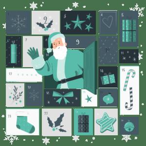 Grafik: Weihnachtsmann