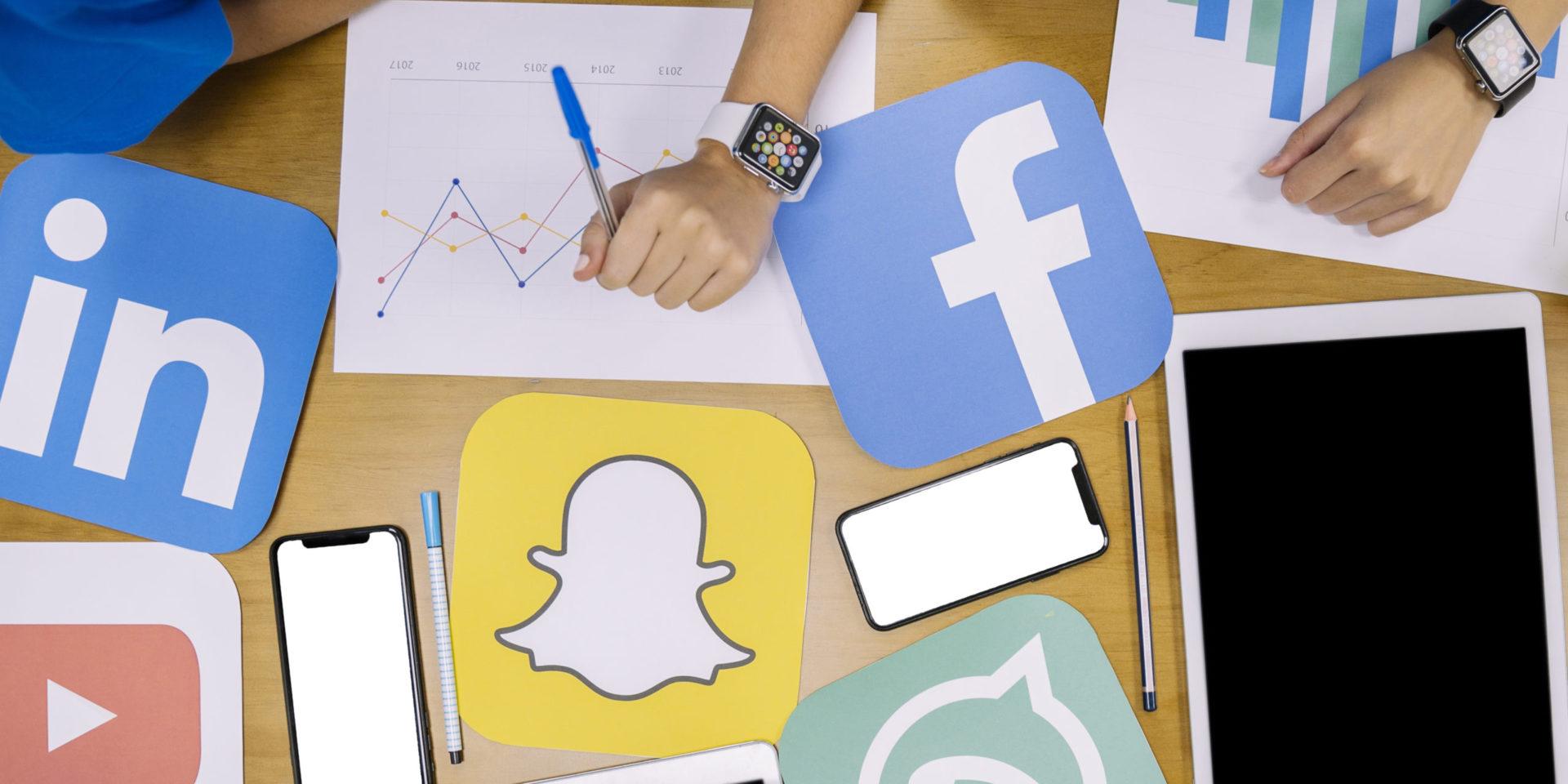 Social-Media Planungsarbeit